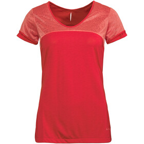 VAUDE Skomer II T-shirt à col en V Femme, magma